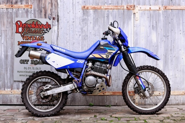Yamaha 250 ttr brooklands classic for Yamaha ttr 250