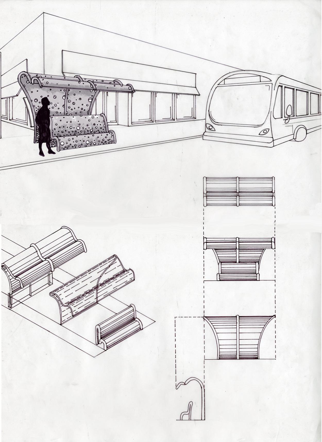 Design District Bus Stop Design Cornelius Tulloch