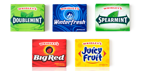 Wrigleys gum colin snyder i used to live in chicago and wrigley is a hometown brand i think one of my earliest moments of my designer eye came from seeing my dads doublemint gum thecheapjerseys Images